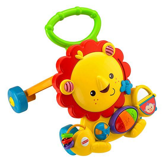 Ходунки-толкатель «Веселый лев»